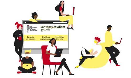 Plateforme Santé psy: pour aider les étudiants en difficulté