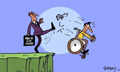 Polémique fiscale sur l'allocation adulte handicapé