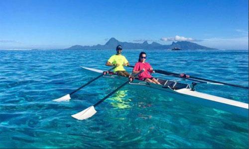 Polynésie: marathon nautique pour combattre la mucoviscidose