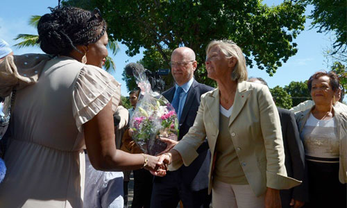 Pré-rentrée inclusive pour Blanquer et Cluzel à La Réunion