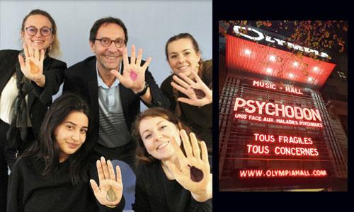 Psychodon à l'Olympia, le show en faveur de la santé mentale