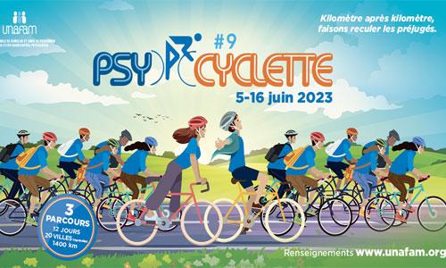 PsyCyclette : à vélo pour briser le tabou sur la maladie psy