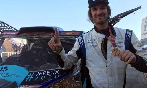 "Rallye Dakar : Axel Allétru, paraplégique, un pilote en ""or"