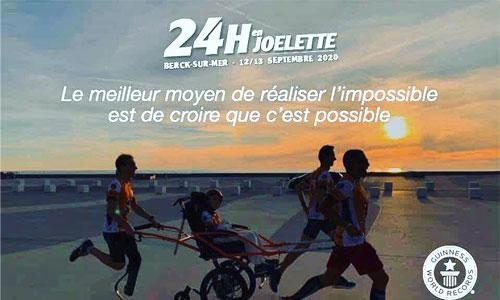 Record du monde de course en joëlette : 264 km en 24h!