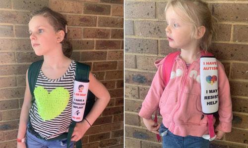 Secours : une housse de ceinture pour informer d'un handicap