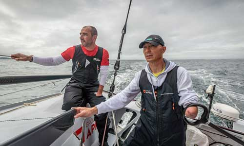 Seguin, Ballois : 2 champions handisport dans le même bateau