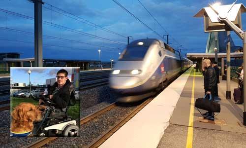 SNCF: débouté par la justice, l'étudiant handicapé persiste