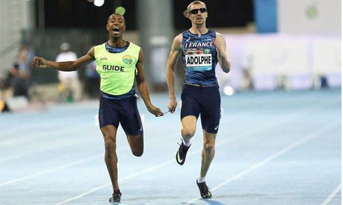 Timothée Adolphe, champion du monde sur le 400 m para