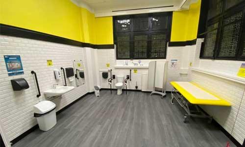Toilettes adaptées: la 1ère salle de change bientôt à Nancy?