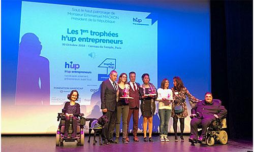 Trophées H'up : fin du suspense pour les 5 lauréats
