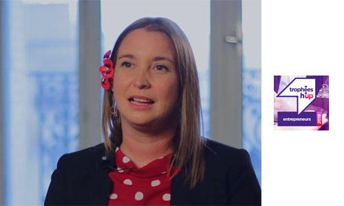 Trophées H'up: Nathalie embellit les prothèses auditives