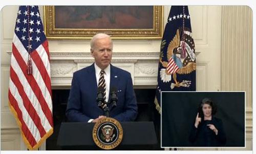Un interprète en langue des signes à la Maison-Blanche