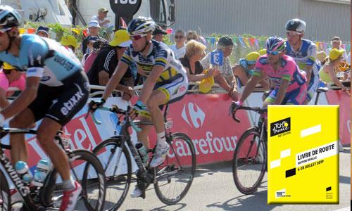 Un livre en braille pour suivre le Tour de France 2019