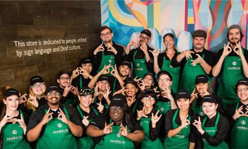 Un premier Starbucks en langue des signes aux Etats-Unis