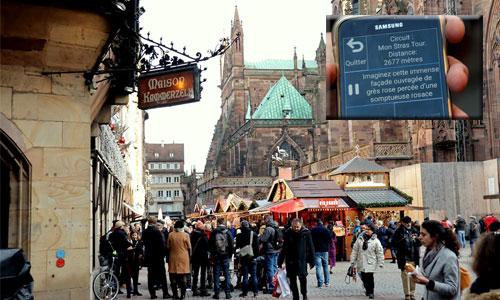 """Une appli propose un circuit """"spécial handicap"""" à Strasbourg"""