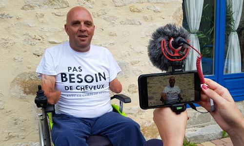 Vidéo : Philippe Croizon a un truc à vous dire !