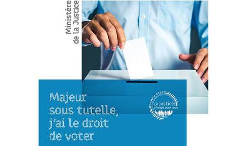 Vote des majeurs sous tutelle : s'inscrire jusqu'au 16 mai !