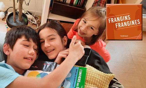 Web-série Frangins, Frangines : Livia et Ella Bassez