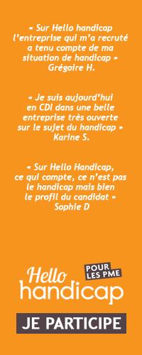 Inscrivez-vous à Hello Handicap PME