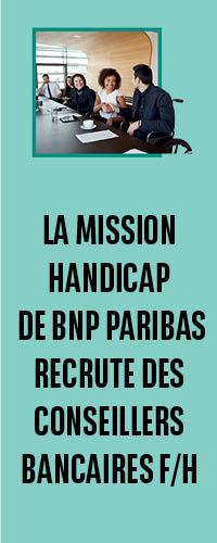 BNP recrute sur Handicap.fr