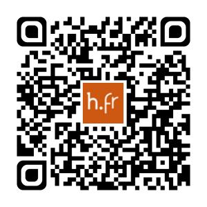 Flashcode pour accéder à l'application sur Apple Storet