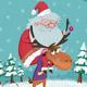 Le traîneau du Père Noël (miniature 1)