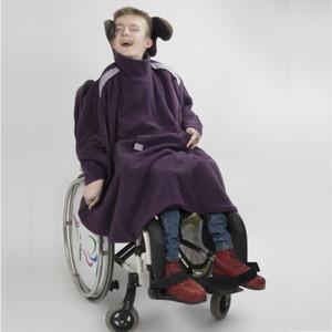 Cape TESS adaptée pour fauteuil avec corset siège (image 1)