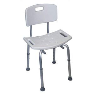 Chaise de douche réglable en hauteur (image 1)