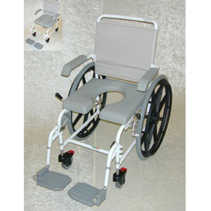 Chaise de douche et chaise de toilette Aqua Basic (image 1)