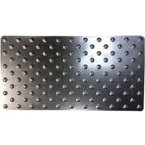 Dalle podotactile Tolplot en acier galvanisé (image 1)
