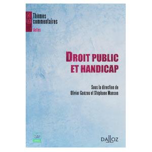 Droit public et handicap (image 1)