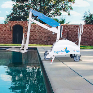 Elévateur mobile sur batterie Pelican Pool