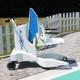 Elévateur de piscine mobile sur batterie BluOne (miniature 1)