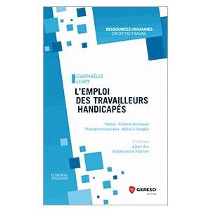 L'emploi des travailleurs handicapés - 5e editions (image 1)