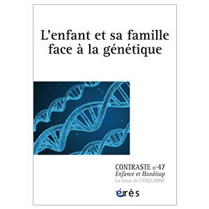 L'enfant et sa famille face à la génétique (image 1)