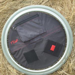Enjolieroue avec poche plate zippée, maille, amovible (image 1)