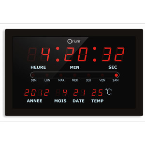 Horloge Calendrier à LED (image 1)