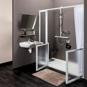 Parois de douche - Installation en niche (image 1)