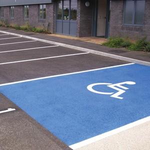 Kit Slika pour places de stationnement handicapé (image 1)