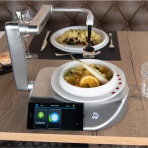 Robot aide aux repas Neater-eater© version électrique