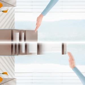 Système d'ouverture facile & fermeture amortie pour tiroir (image 1)