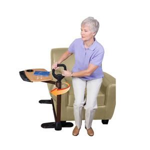 Poignée d'appui avec tablette de canapé (image 1)
