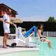 Elévateur de piscine mobile sur batterie BluOne (miniature 2)